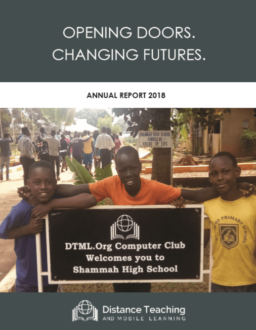 2018 Distance Teaching and Mobile Learning Report Cover